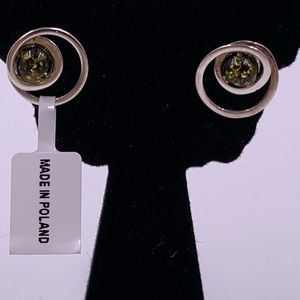 Israeli designer PZ Sterling Silver Earrings